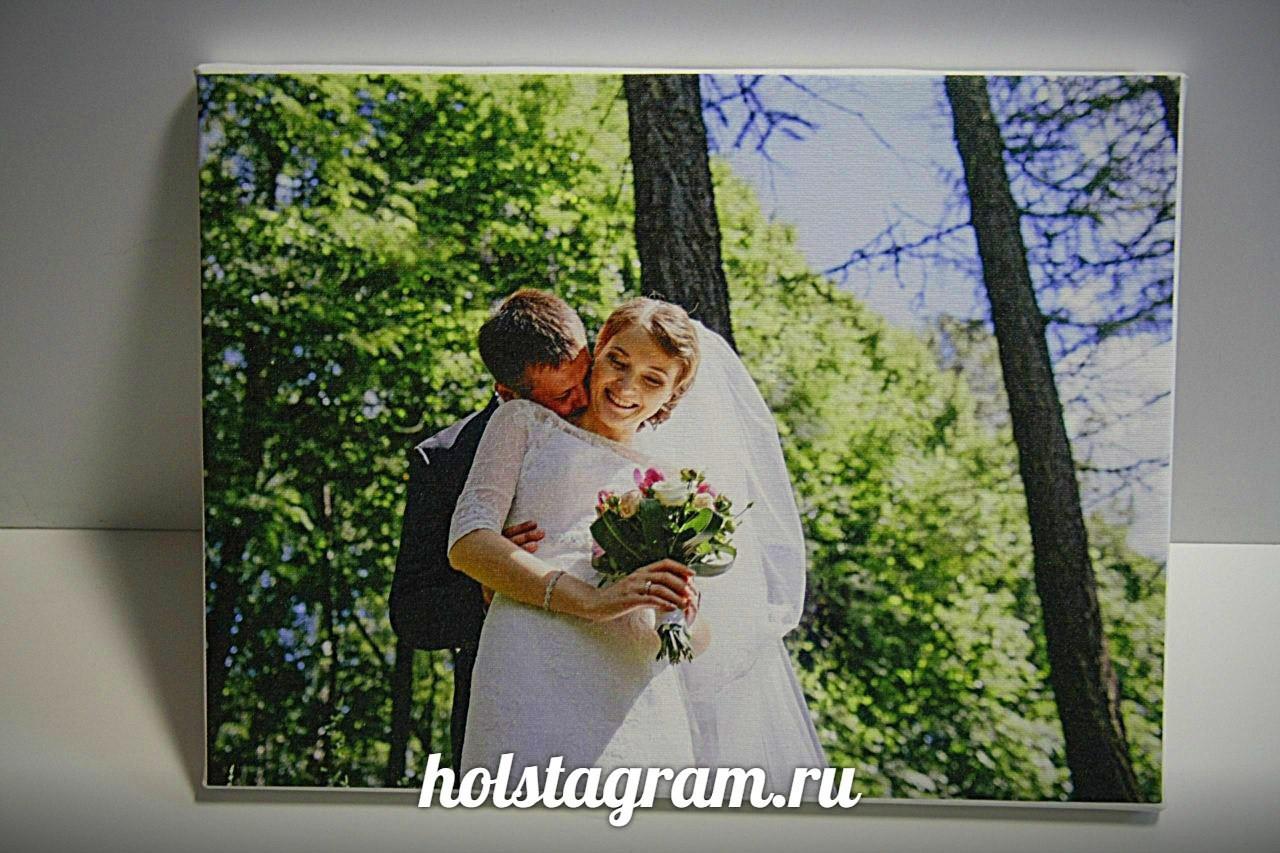 Подарок на свадьбу картина на холсте