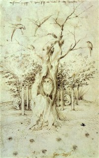 Картина автора Босх Иероним под названием The Trees Have Ears and the Field Has Eyes by Hieronymus Bosch