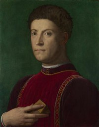 Картина автора Бронзино Аньоло под названием Portrait of Piero de' Medici