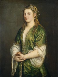 Картина автора Вечеллио Тициан под названием Portrait of a Lady