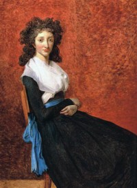 Картина автора Давид Жак Луи под названием Portrait of Madame Louise Trudaine