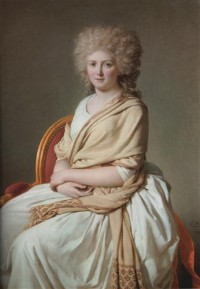 Картина автора Давид Жак Луи под названием Portrait of Anne-Marie-Louise Thélusson, Comtesse de Sorcy