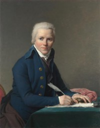 Картина автора Давид Жак Луи под названием Portrait of Jacobus Blauw