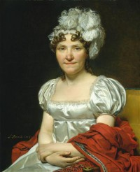 Картина автора Давид Жак Луи под названием Portrait of Marguerite-Charlotte David