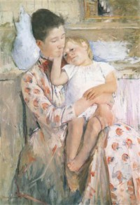 Картина автора Кассат Мэри под названием Mother and Child (Maternité) huile sur toile