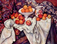 Картина автора Сезанн Поль под названием Still Life with Apples and Oranges