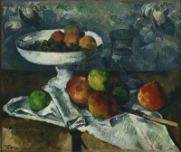 Картина автора Сезанн Поль под названием Still Life with Fruit Dish