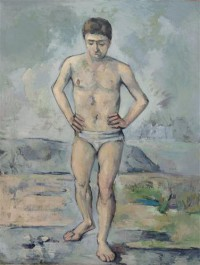 Картина автора Сезанн Поль под названием The Bather