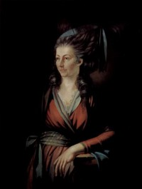 Картина автора Фюсли Иоганн Генрих под названием Portrait of Maria Hess
