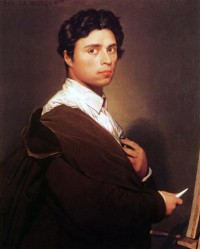 Картина автора Энгр Жан Огюст Доминик под названием Self-Portrait at Age Twenty Four
