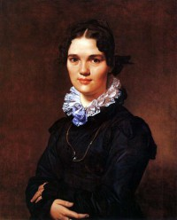 Картина автора Энгр Жан Огюст Доминик под названием Portrait of Madmoiselle Jeanne Suzanne Catherine Gonin, later Madame Pyrame Thomeguex