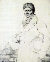 Картина автора Энгр Жан Огюст Доминик под названием Portrait of Dr. Jean Louis Robin