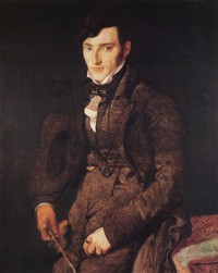 Картина автора Энгр Жан Огюст Доминик под названием Portrait of Jean Pierre Francois Gilibert