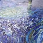 Имитация живописи фактурным гелем