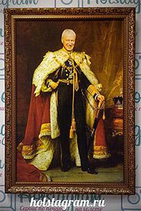 Портрет мужчины в царской мантии