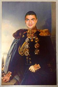 Портрет парня в военной форме