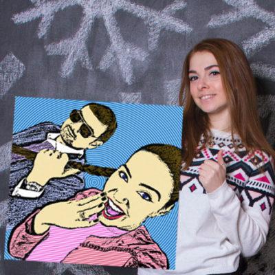 КУПИТЬ ПОПАРТ КАРТИНУ