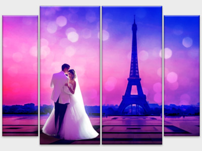 Модульная-картина-по-свадебной-фото