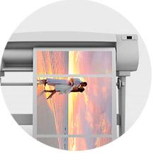 Печать модульной картины по фото