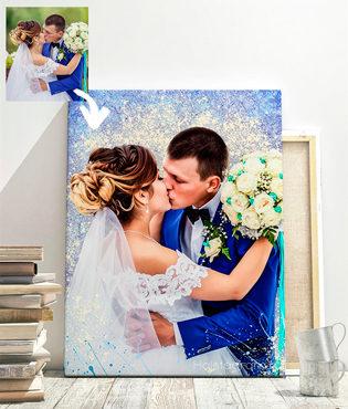 свадебный дрим арт портрет